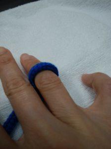 トロンボーン紐作り方3